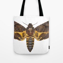 Greater Death's Head Hawkmoth Tote Bag