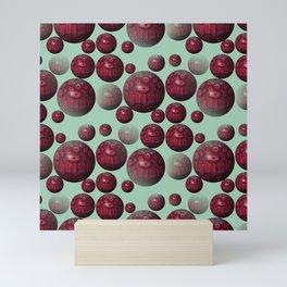 Jamun - Bubble beads J of Alphabet collection Mini Art Print