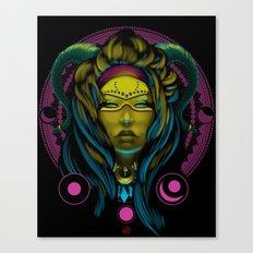 Neon Voodoo Canvas Print