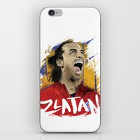 zlatan iPhone & iPod Skins featuring Zlatan by Conal Deeney