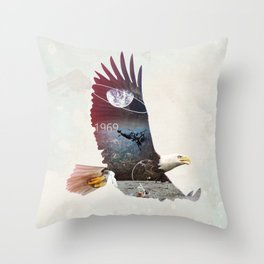 The Eagle Throw Pillow