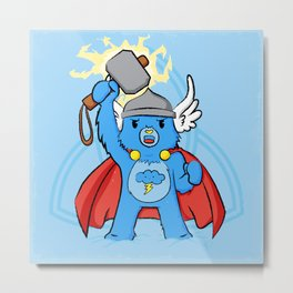 Thor, bear of thunder Metal Print