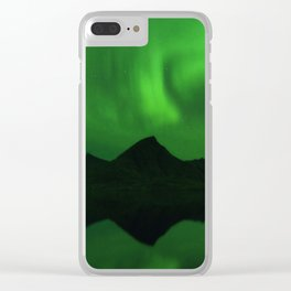 The Northern Lights 06 Clear iPhone Case