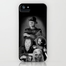 We are a happy family iPhone Case