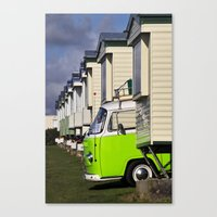 vw bus Canvas Prints featuring Vdub VW Bus by Rainer Steinke