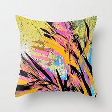 juicy jungle Throw Pillow