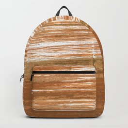 Light brown abstract Backpack