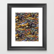gems, beads, prayers Framed Art Print