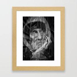 Broken Lives Framed Art Print