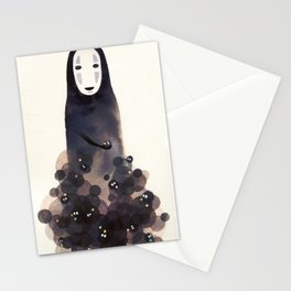 No Face & Friends Stationery Cards