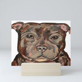 Sallie the dog Mini Art Print