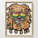 RASTA LION Joint Smoking Weed 420 Ganja Pot Hash by moonpie90