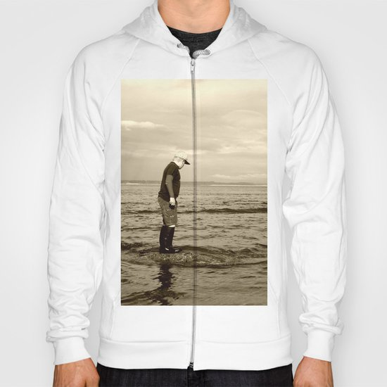 A Boy and The Sea Hoody