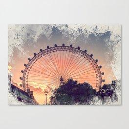 London city art 4 #london #city Canvas Print