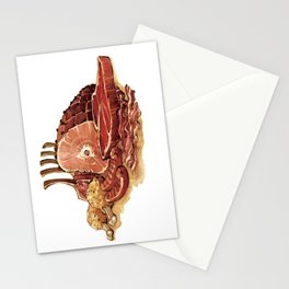 Just Meats Stationery Cards