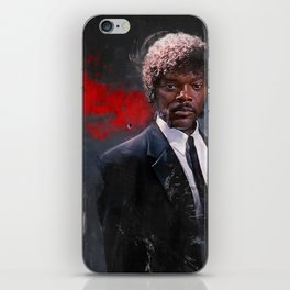 Jules Winnfield Witnesses A Miracle - Pulp Fiction iPhone Skin