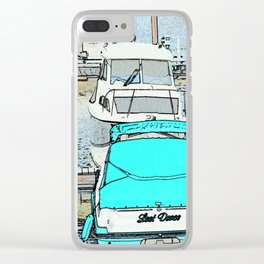 The Boat Dance Clear iPhone Case