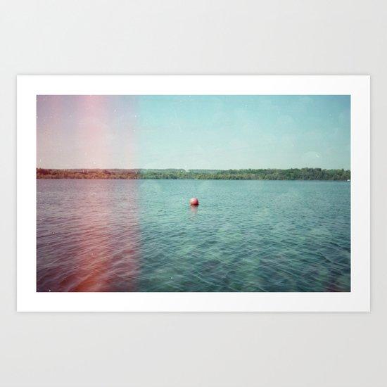 Buoy Art Print