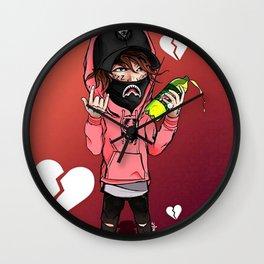 LIL XAN---ART VI Wall Clock