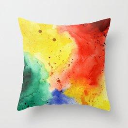 Holi Throw Pillow
