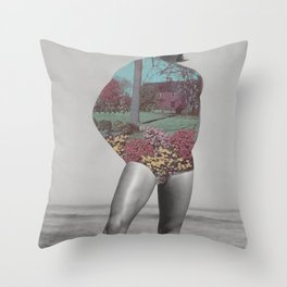 "278 - ""my winter wonderland"" Throw Pillow"