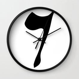 SIXTH ARABIC NUMBER Wall Clock