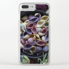 Nightshaded pasta ingredients Clear iPhone Case