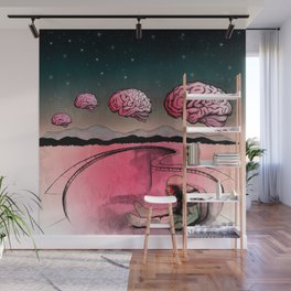 Flatline II Wall Mural