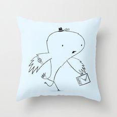 LATE AGAIN! Throw Pillow