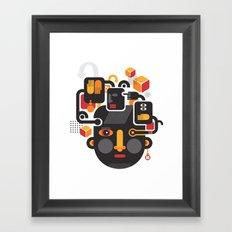 See no evil. Framed Art Print