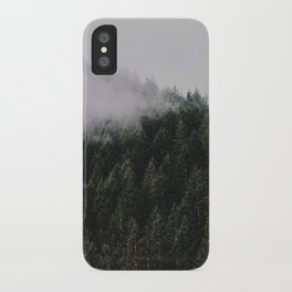Forest Fog IV iPhone Case
