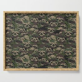 Sloth Camouflage Serving Tray