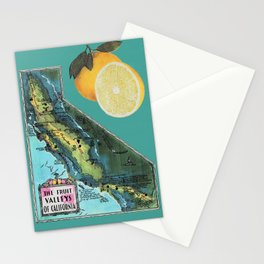 FRUITS OF THE CALIFORNIAN LOOM Stationery Cards