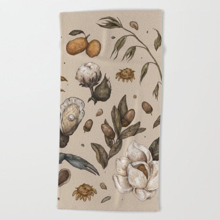 Georgia Nature Walks Beach Towel