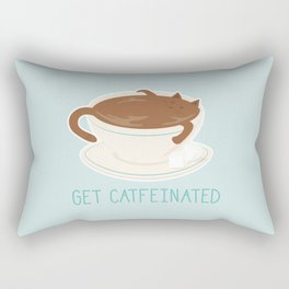 Catfeine Rectangular Pillow