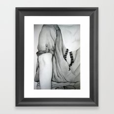 Sleeve Framed Art Print