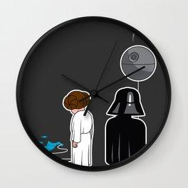 Death Balloon Wall Clock