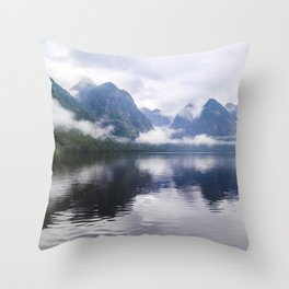 Mesmerizing Reflections Throw Pillow