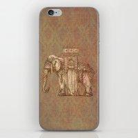 bastille iPhone & iPod Skins featuring Elephant Bastille by Bluepress