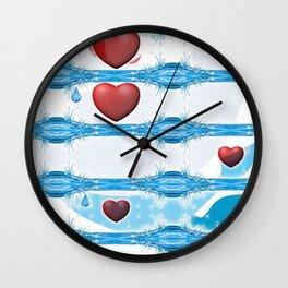 In Loving Memory. Wall Clock