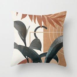 Nature Design II   Throw Pillow