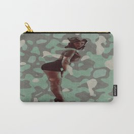 Sexy Military Gal Carry-All Pouch