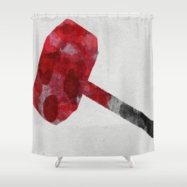 Mjolnir Shower Curtain