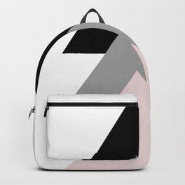 Geometrical Design. Triple Triangles. Backpack