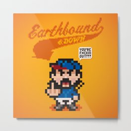 Earthbound & Down Metal Print