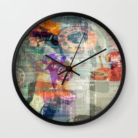 telephone Wall Clocks featuring Telephone by Arken25