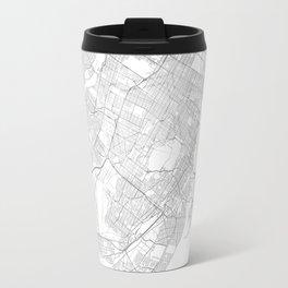 Montreal, Canada Minimalist Map Travel Mug