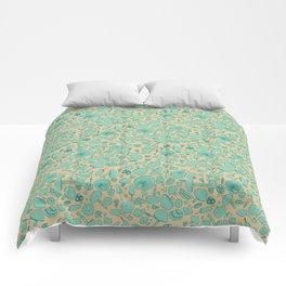 Fungi V2 Vintage Mushroom Pattern Comforters