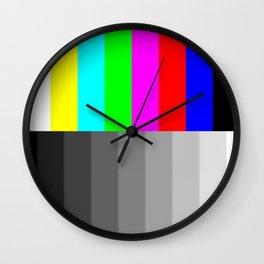 Tv screen Wall Clock