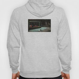 Nighthawks (oil on canvas) Hoody
